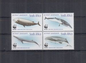 N838. South Africa - MNH - Marine Life - Whales - WWF
