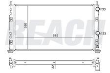 Radiator Reach Cooling 41-2323