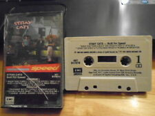 RARE OOP Stray Cats CASSETTE TAPE Built For Speed BRIAN SETZER 1982 rockabilly !