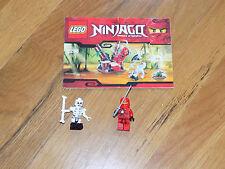 Lego Ninjago 2258 Minifigures Red Kai Ninja & Bonezai Skelton
