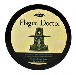 Plague Doctor Shaving RAZOROCK Made IN Italy Shea Butter Argan Oil Aloe Vera