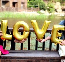 + SCRITTA LOVE GONFIABILE TI AMO LOVE REGALO SAN VALENTINO CM. 40 DI ALTEZZA