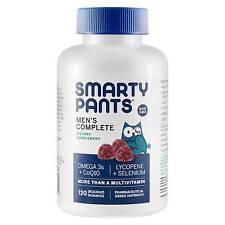 Smartypants Men's Complete Gummy Vitamins Multivitamin Coq10 Lycopene Methyl