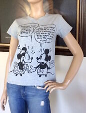 349c85c6d UNIQLO DISNEY COLLECTION WOMEN GRAY SHORT SLEEVE GRAPHIC T-SHIRT NWT SIZE M