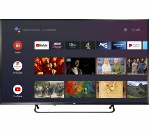 """JVC LT-40CA890 Android TV 40"""" Smart 4K Ultra HD HDR LED TV with Google Assistant"""