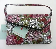 Hobo Zara Convertible Cross Body Bag Clutch Stingray Floral Multicolor Leather