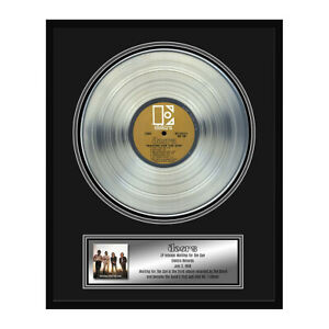 The Doors Collectible Framed Waiting For the Sun Platinum Album Award 22x18""