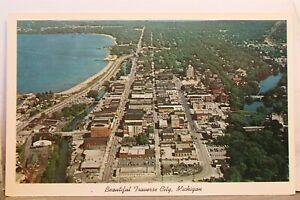 Michigan MI Traverse City Postcard Old Vintage Card View Standard Souvenir Post