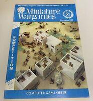 Miniature Wargames Number 55 December 1987 oop SC
