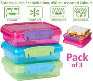 Sistema Lunch Sandwich Box, 200 ml