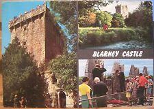 Irish Postcard BLARNEY CASTLE Co Cork Multiview Ireland John Hinde 2/198 1983