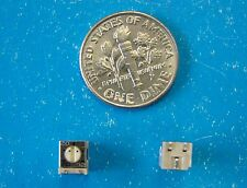 "TOCOS 200 Ohm POT G4SAT-B201M 1/4"" Square SMD Potentiometer, Side Adjust, 25pcs"