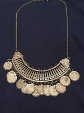 Fabtastic, New Boho Afghani Ethnic Party Collar Statement Necklace Hippy