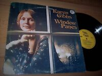 NM 1977 Karen Gibbs Window Panes LP Album