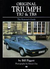 Original Triumph TR7 & TR8 Restorer's Guide Interior Engine Electrics Options +