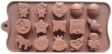 Silicone Moule Chocolat,Sugarcraft Décoration Gâteau,Cœurs Amour Oiseau Papillon