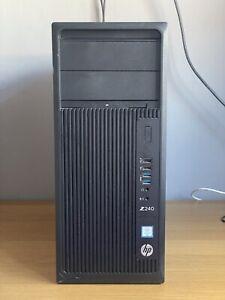 HP Z240 TOWER  i7-6700 3.40GHz 16GB RAM 128GB SSD + 2TB HDD GTX 960 Graphics