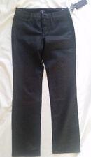 NYDJ Leggings Skinny Jeans Black / Braun Gr.38P/UK12P Rrp New