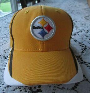 Pittsburgh Steelers Onfield Reebok Cap~Hat~Youth Size~Flexfit~NFL~New~Boy~Girl