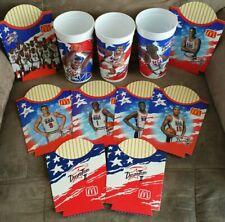 McDonald's 1994 Dream Team II Cups + Fry Holders