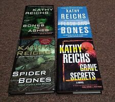 KATHY REICHS 4 small hardcover books SERIES: TEMPERANCE BRENNAN