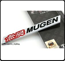 Mugen Badge Civic Interga S2000 JDM Type R FN2 200 Metal Car Emblem Honda 68