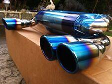 SCARICO Sportivo BMW m3 e46 Sistema di scarico silenziatore marmitta 3,2 impianto di scarico blu NUOVO!