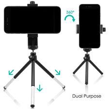 Universal Rotating Vertical Smart Phone Stand Bracket Telescopic Monopod Tripod