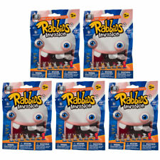 McFarlane Toys - Raving Rabbids -Mini Figures Series 2 -BLIND PACKS (5 Pack Lot)