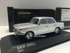 MINICHAMPS 1/43 BMW 2000A 1967 Silver Art. 431023100