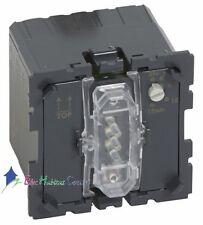 Interrupteur d'éclairage + ventilation retardée Céliane Legrand 67423