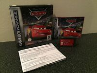 Disney Pixar Cars - Nintendo Gameboy Advance Game - Boxed With Manual GBA