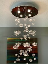 Floating Bubble Chandelier Artemide Era As-Is