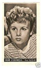 Dean Stockwell Vintage 1950s Kwatta Movie Star Card Look! A