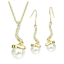 Set Necklace Pendant Earrings Crystals SWAROVSKI Jewelry Original Woman New