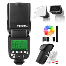 Godox TT685O 2.4G TTL Flash for Olympus Panasonic+ Softbox+ Honeycomb Grid+ Gift
