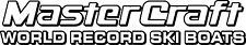 2 Color MasterCraft World Record Ski Boats Decal #1