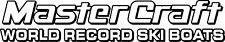 2 Color MasterCraft World Record Ski Boats Decal #1