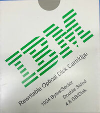 QTY 5 IBM 59H4785 4.8GB 1024 b/s Rewritable Optical Media  EDM-4800B EDM-4800C