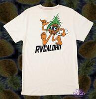 New RVCA RVCAloha Pineapple Mens T-Shirt