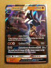 Lucario GX SM100 NON-JUMBO SM Black Star Promos - Ultra Rare NM Pokemon Card