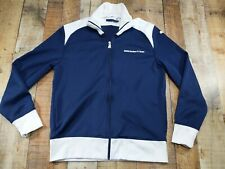BMW Sauber F1 Team PUMA Navy Blue & White Track Formula 1 Racing Jacket Men's LG