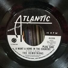 Demotrons | North Soul 45 | I Don't Want to Play/Home In Country | Atlantic 2589