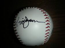 NY YANKEE GREAT REGGIE JACKSON AUTOGRAPHED MLB BASEBALL
