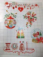 Magazin,Creation Point de Croix ,54,Veronique Enginger,Weihnachten,Mädchen,Kranz