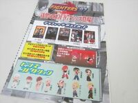 THE KING OF FIGHTERS 97 NEO GEO Neogeo SNK Catalog FLYER Leaflet POSTER Japan