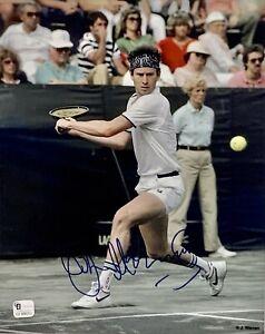 Tennis Bad Boy John McEnroe 8x10 Photo Autographed Auto COA Jimmy Connors