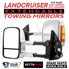 BettaView Extendable Caravan Towing Mirrors TOYOTA LANDCRUISER 200 Inc SAHARA