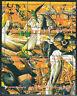 Souvenir sheet of 9 MNH stamps Dingo Birds Wild animals Kangaroo ,Parrot **