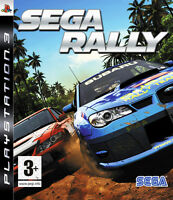 SEGA RALLY ~ PS3 (in Great Condition)
